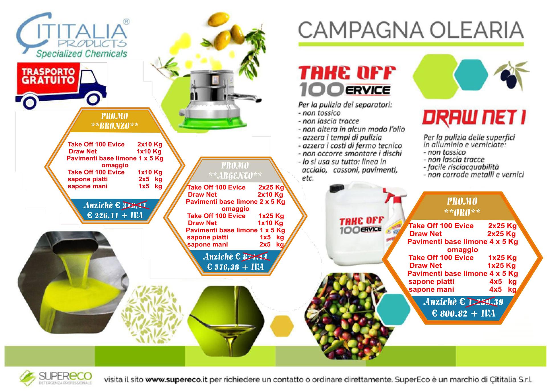 Campagna Olearia 2019